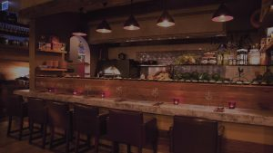 מסעדה עם חדר פרטי